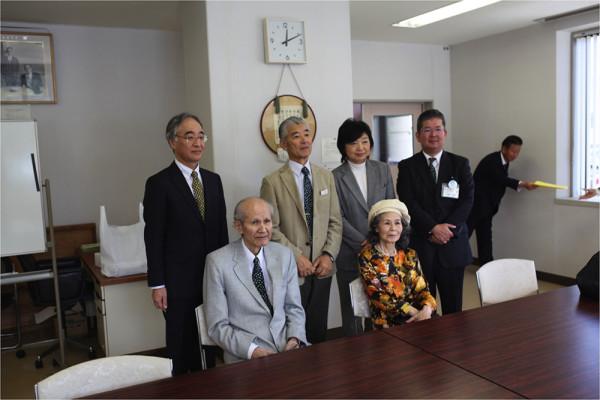 2014年10月鶴岡南高校で講演をされた