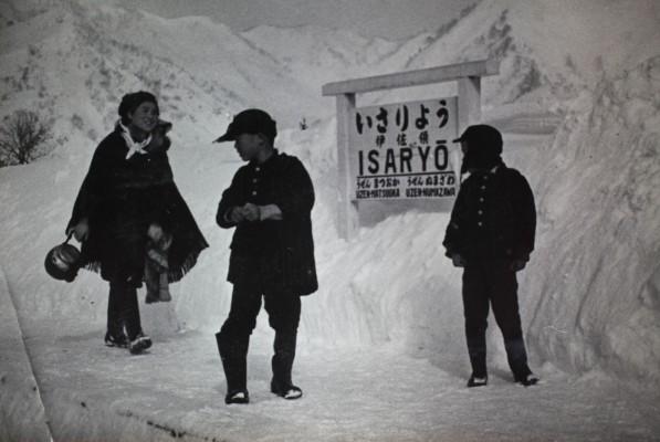 雪の伊佐領駅