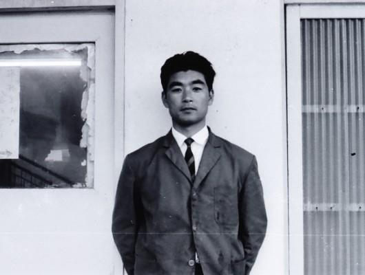 30歳くらいの若かりし頃の館長